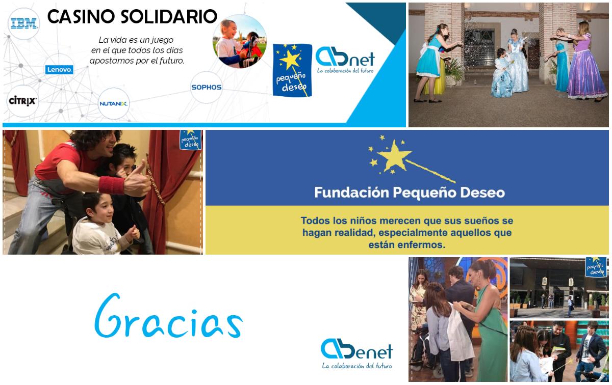 Evento Casino Solidario Abenet Deseos Cumplidos